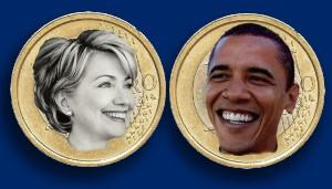 Obama, Clinton, Same Coin